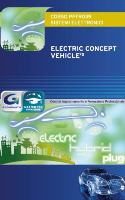 "Nuovo corso MASTERPRO ""Electric Concept Vehicle's"""