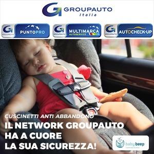 Groupauto Italia: focus sulla Sicurezza dei Bambini con i cuscinetti antiabbandono