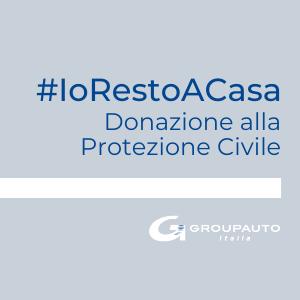 Groupauto Italia aderisce all'iniziativa Sky #IoRestoACasa con una Donazione alla Protezione Civile