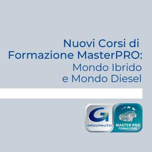 Nuovi Corsi di Formazione MasterPRO: Mondo Ibrido e Mondo Diesel