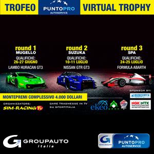 Groupauto Italia lancia il Primo Trofeo Virtuale Targato PuntoPRO Autoservice
